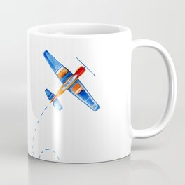 cute plane Coffee Mug
