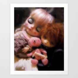 Maja and Jerry Art Print