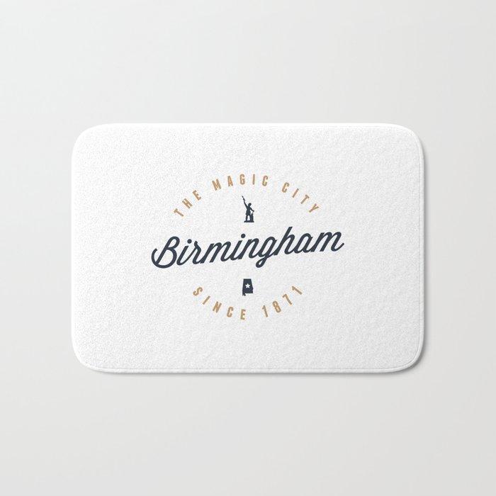 Birmingham, Alabama - The Magic City Bath Mat