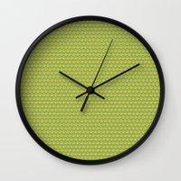 potato Wall Clocks featuring Potato madness by Natacha Oliveira