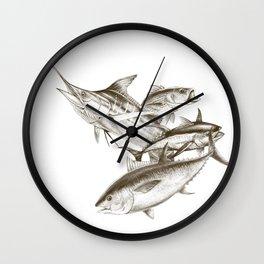 Saltwater big game Wall Clock