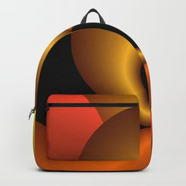 curly geometry -1- Backpack