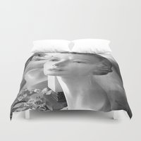 grace Duvet Covers featuring Grace by Jon Cain