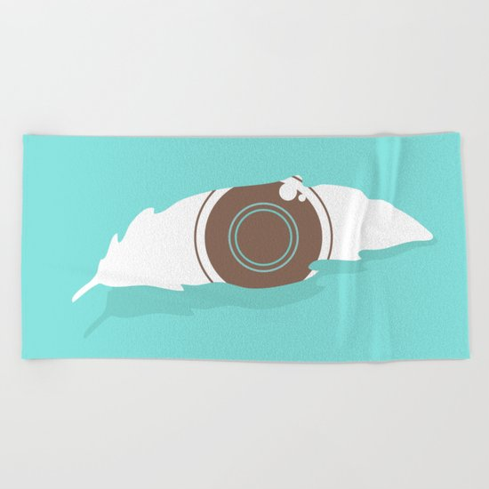 En-light-enment Beach Towel
