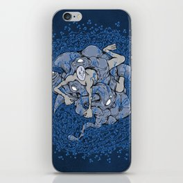 In deep iPhone Skin