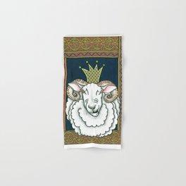 king of sheep Hand & Bath Towel