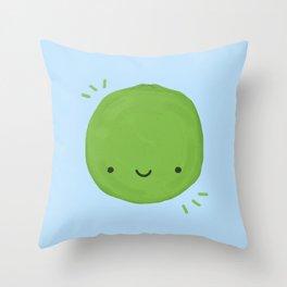 Kawaii Lime Throw Pillow