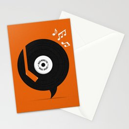 Music Speaks Stationery Cards