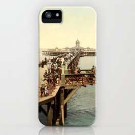 1890 Victorian Jetty in Margate Kent iPhone Case