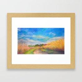 Summer's End Ada Hayden Framed Art Print