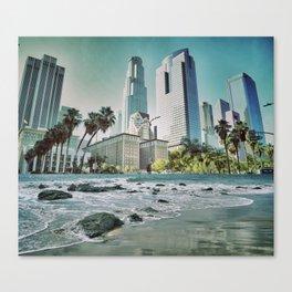 Surf City L.A. Canvas Print