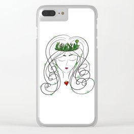 Dallas Nopales Clear iPhone Case