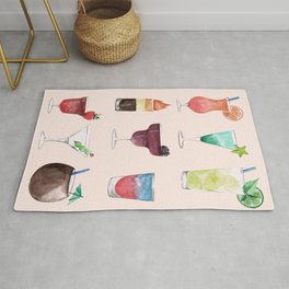 Summer Cocktails 6 Rug
