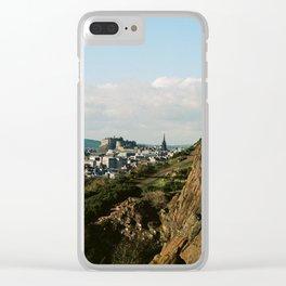 Edinburgh Clear iPhone Case
