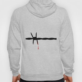 Blooded Barbed Wire Hoody