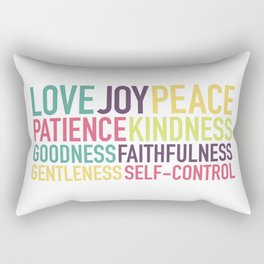 Fruits of the Spirit Rectangular Pillow