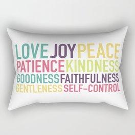 Fruits of the Spirit Rectangular Pillow