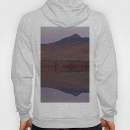 Autumn Mountain Moonrise Hoody