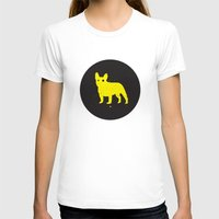 bulldog T-shirts featuring Bulldog by Gonzi