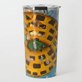 Torrid Yellow House / Casa Amarela Tórrida Travel Mug