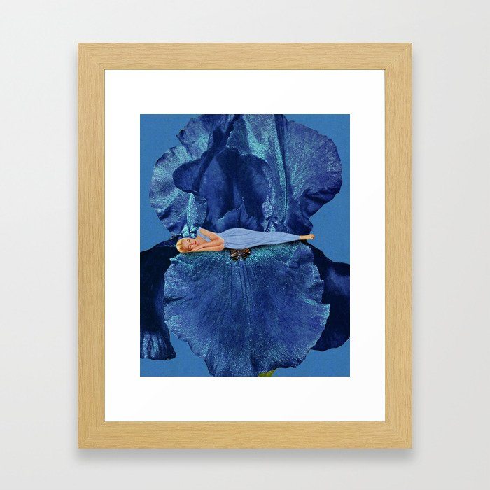 Beauty Sleep Framed Art Print