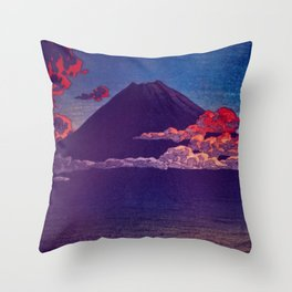 A Sunset for Hara Throw Pillow