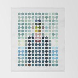 Rene Magritte Remixed Throw Blanket