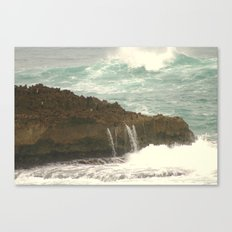 Leaking Rock Canvas Print