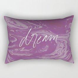 Fuchsia Fantasy - Dream Big Rectangular Pillow