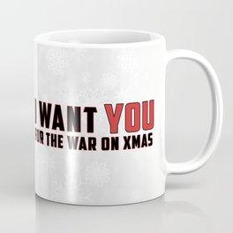 War on Christmas Propaganda Poster Coffee Mug