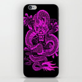 Epic Dragon Purple iPhone Skin