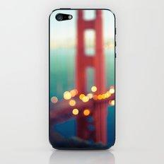 Meet Me In San Francisco iPhone & iPod Skin