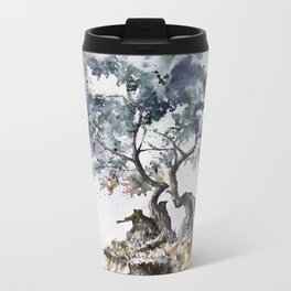 Tree Metal Travel Mug