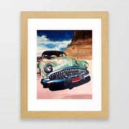 Beat up Holden Framed Art Print