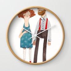 poppy and jackson Wall Clock