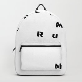 My cock my rules Backpack
