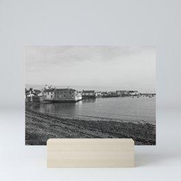 Isle of Whithorn Harbour, Scotland Mini Art Print