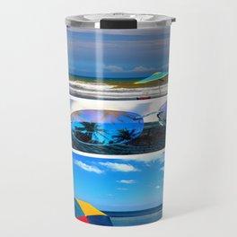 Sunglasses needed in paradise Travel Mug