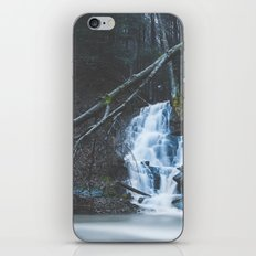Emerging waterfall after the flood iPhone & iPod Skin