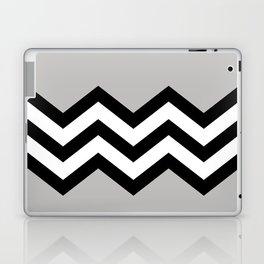 GRAY COLORBLOCK CHEVRON Laptop & iPad Skin