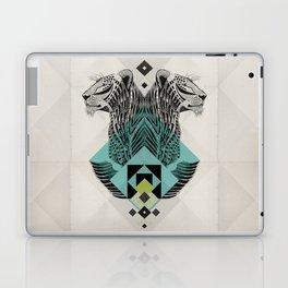 Blue Leopard Laptop & iPad Skin