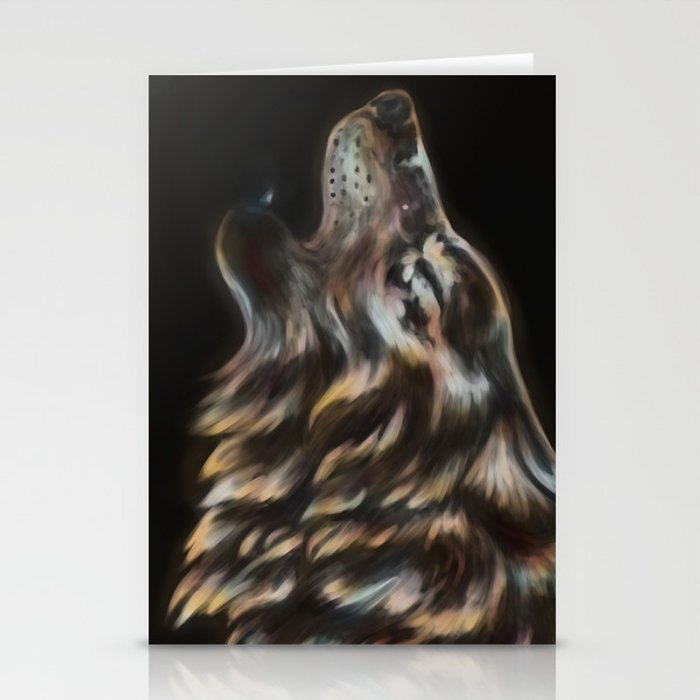 Iridescent Howl Stationery Cards