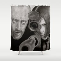leon Shower Curtains featuring Leon by Giampaolo Casarini
