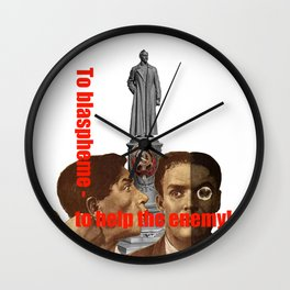 Enemy USSR Wall Clock