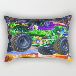 Monster Jam Grave Digger Rectangular Pillow