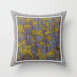 MAGIC DILL WEED Throw Pillow