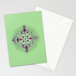 Voodoo Symbol Papa Legba Stationery Cards
