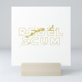 Rebel Scum Mini Art Print