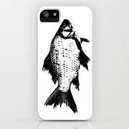 Black Fish iPhone Case