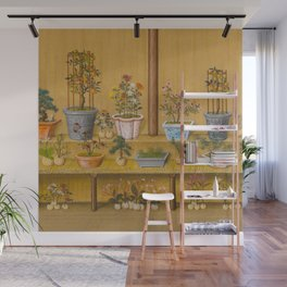 Chinese House Plants Wall Mural